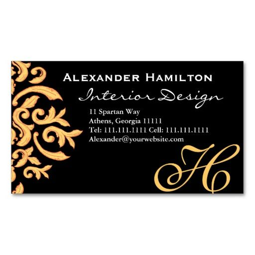 264 best damask business card templates images on pinterest black and gold elegant baroque damask for him business cards reheart Image collections