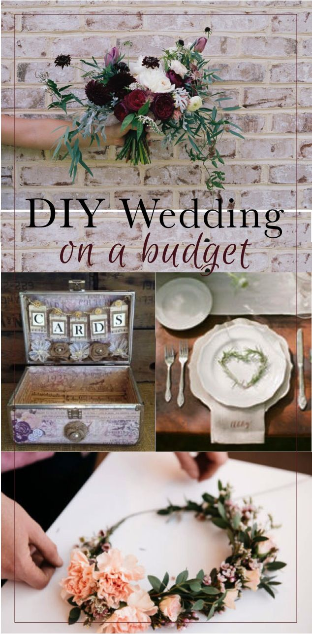 DIY Wedding on a budget | How to have a trendy, country rustic, vintage, floral wedding with out breaking the bank | Summer wedding tips for making your own DIY wedding bouquet, DIY floral headband, cards holder, table settings, hair trends, event decor, and even some free wedding printables | Brought to you by The DIY Lighthouse and other creative minds