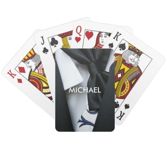 Stag Bachelor Party Favour Playing Cards