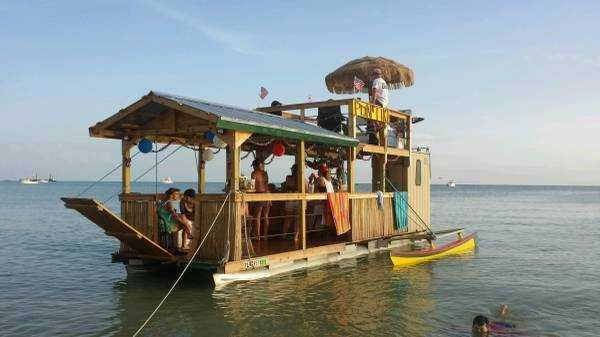 23 Best Floating Tiki Bar Images On Pinterest Outdoor