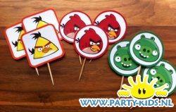 Afbeelding van Angry Birds prikkertjes