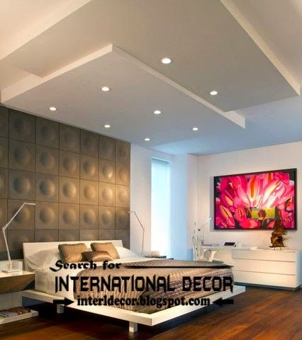 Top plaster ceiling design and repair for bedroom ceiling