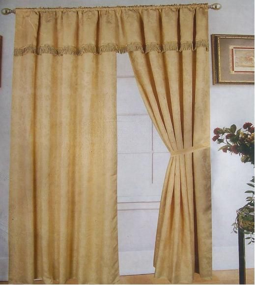 Faux Silk Taffeta Curtains Panel Curtains for Bedroom
