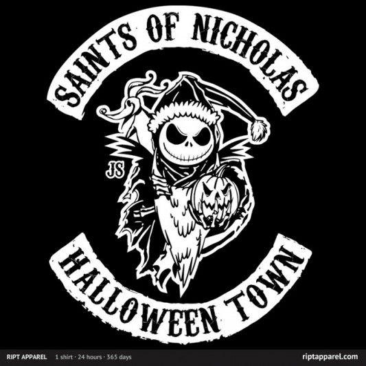 Nightmare Before Christmas Saints of Nicholas Shirt