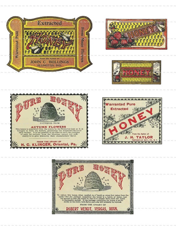 Digital Download Collage Sheet Antique by PrintMarksTheSpot, $1.00