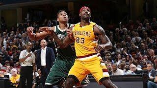 Giannis Antetokounmpo - Milwaukee Bucks - LeBron James - Cleveland Cavaliers