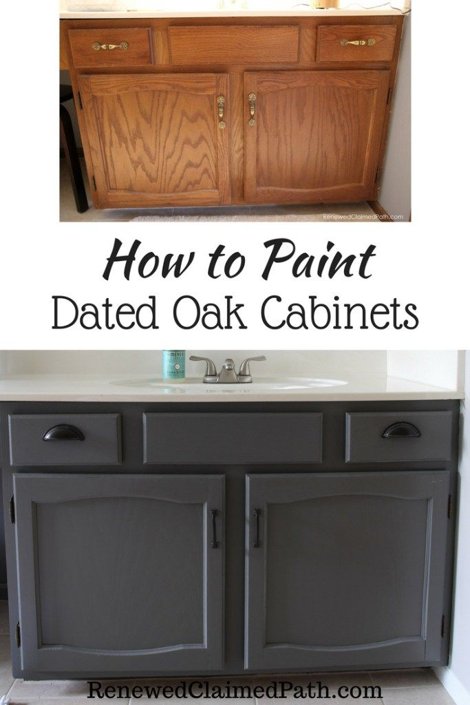 How To Paint Dated Oak Cabinets Oak Cabinets Painting Cabinets Diy Cabinets