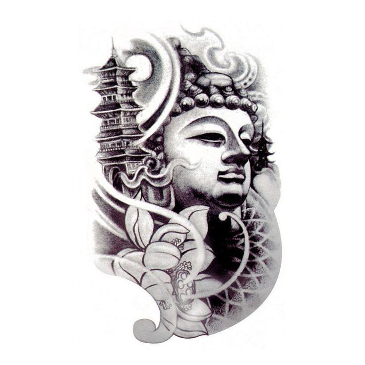 Chinese buddha tattoo designs