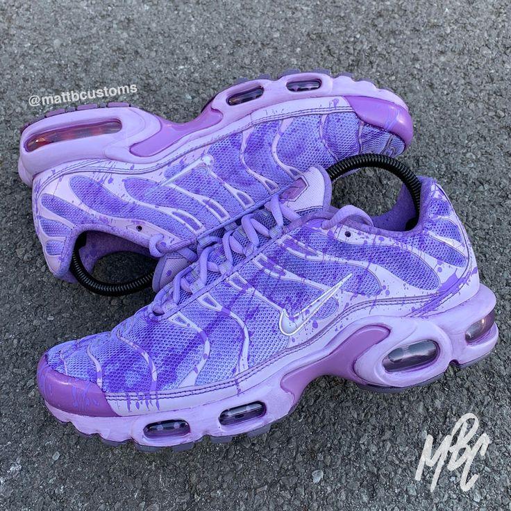 NIKE TN - PURPLE DYE | Nike tn, Custom nike shoes, Nike