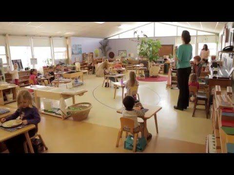 Un día en un aula Montessori. Para ver un ejemplo real de aplicación del Método Montessori. #educación #montessori #video
