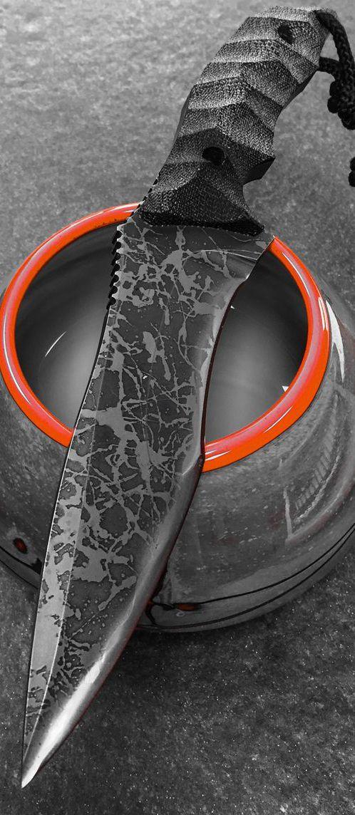Kiku Matsuda Hurricane Special Custom Fixed Knife Blade @aegisgears