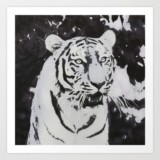 Urban Pop Art Tiger
