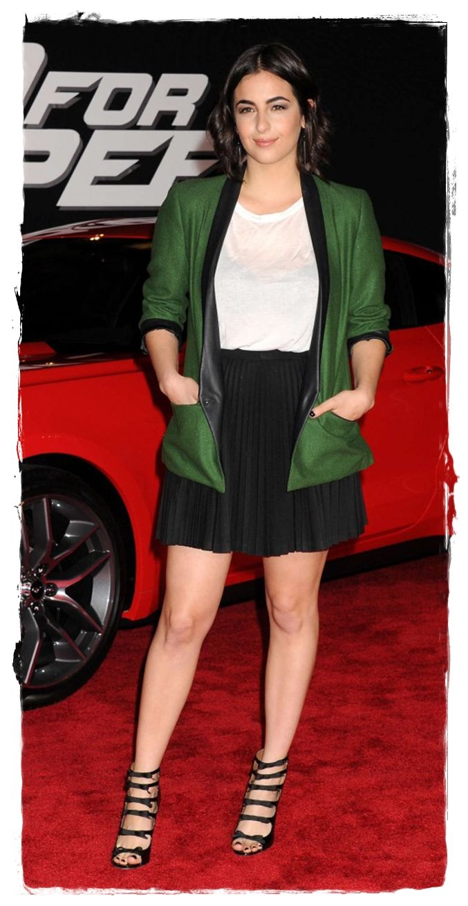 """Alana Masterson – """"Need For Speed"""" Premiere in Hollywood"""