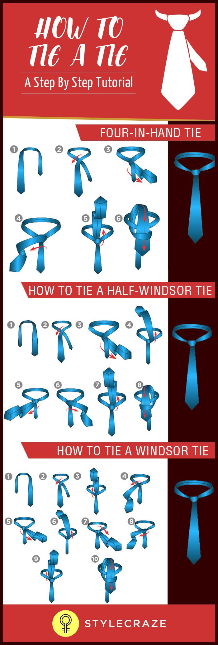 How To Tie A Tie  A Step By Step Tutorial (videos Included)