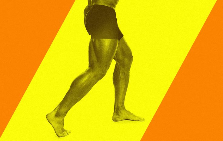 Keep the front and back of your legs in proportion with this throwback move