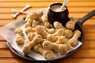 """Cheesy Bones - OP said, """"so cute and delicious! I'll add a sprinkle of garlic salt and basil onto mine before baking and serve with warmed marinara sauce... yum!"""""""