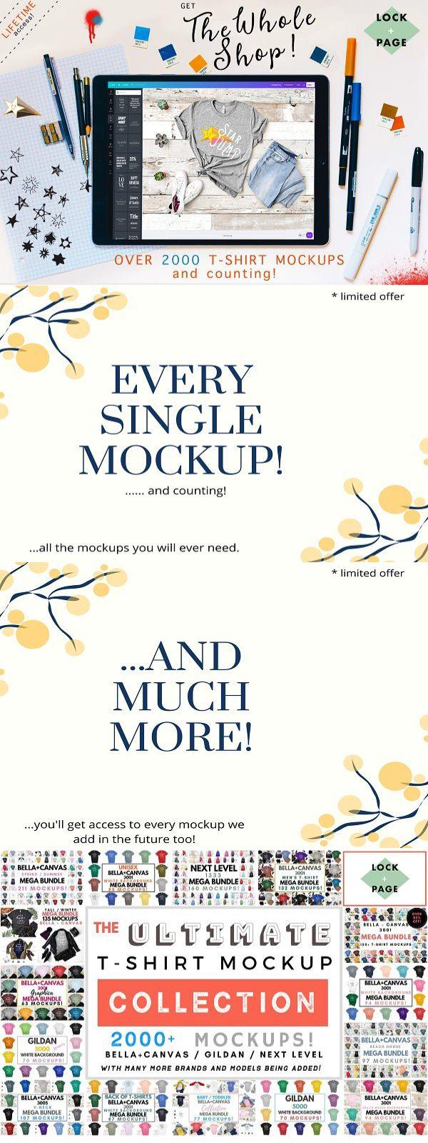 Download Whole Shop T Shirt Mockup Bundle Shirt Mockup Tshirt Mockup Mockup