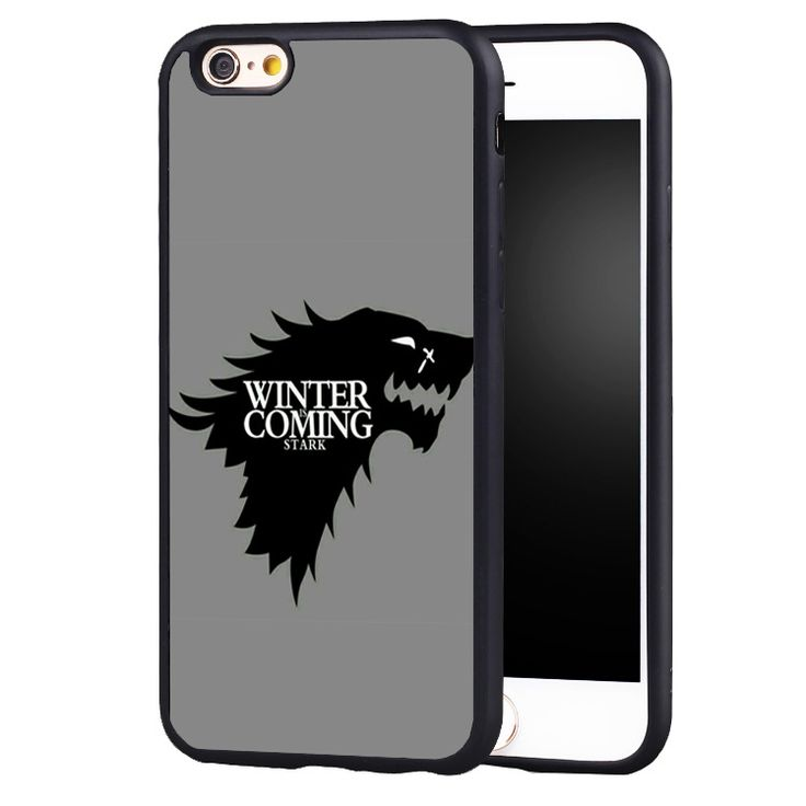 Game Throne Winter is coming Case Cover for Samsung Galaxy s4 s5 s6 S7 edge S8 plus note 2 3 4 5 - Direwolf Shop Direwolf Shop