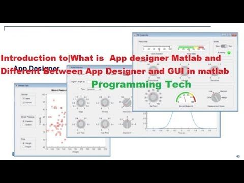 Introduction to|What is  App designer Matlab and Different Between App D…