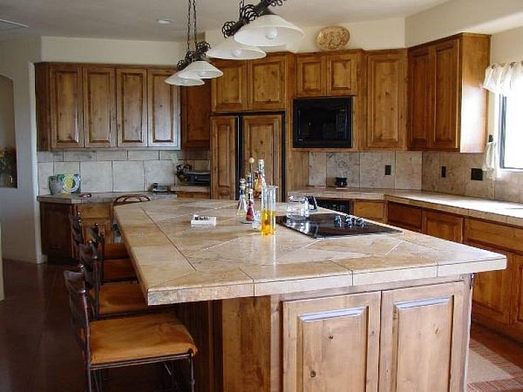 17 best images about cool kitchen designs with island on for Cool kitchen island ideas