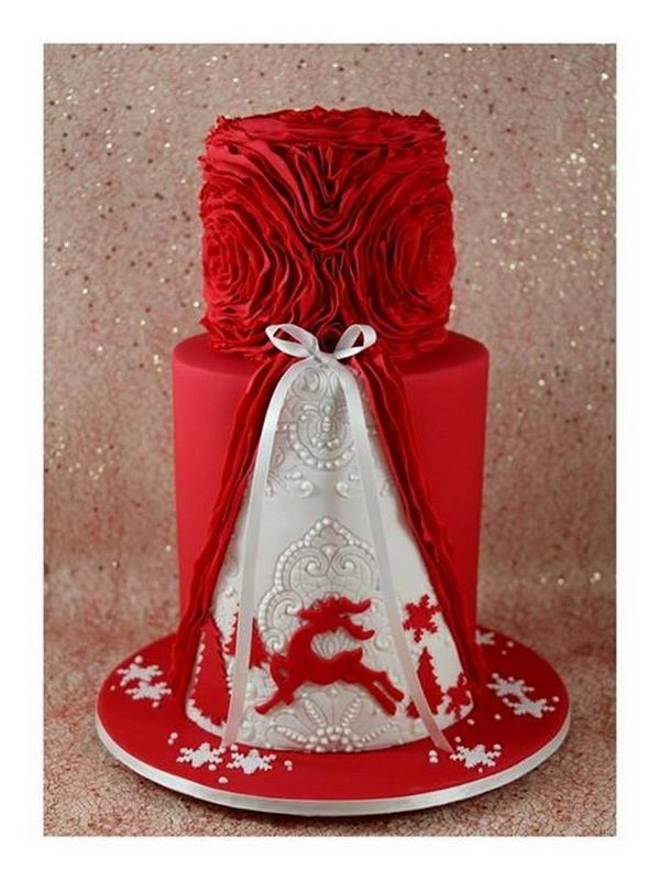 Toppers Galore: Decorating Your Christmas Cake