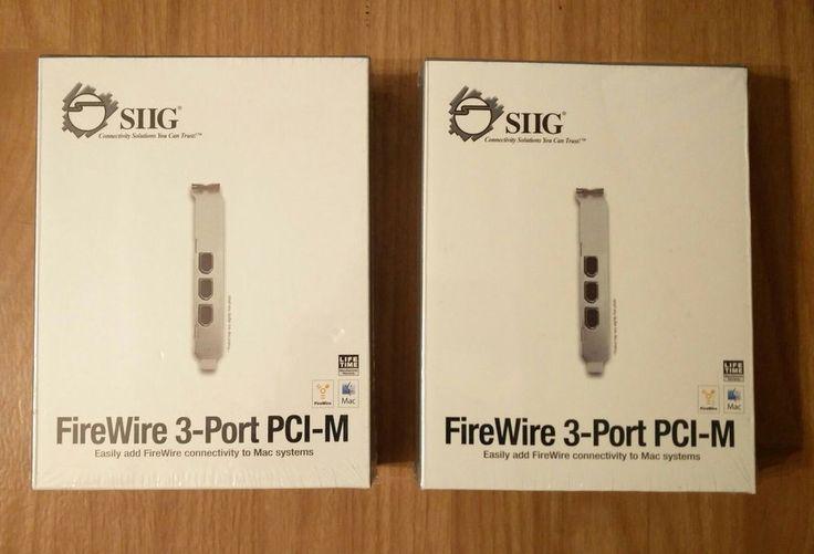 2 SIIG FireWire 3-Port PCI-M #SIIG