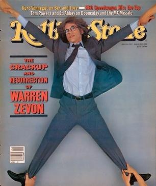 Warren Zevon on the March 19, 1981 cover. #longreads