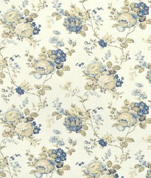 Waverly Coventry Hill Chambray Fabric - $13 | onlinefabricstore.net