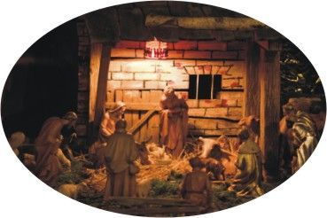 left/right gift exchange game with the nativity story