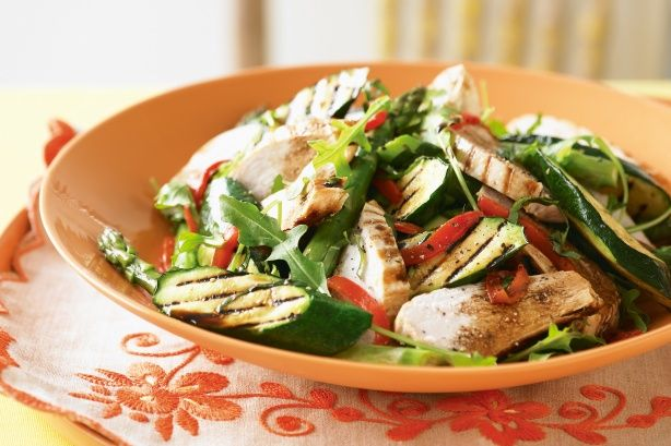 Chargrilled Chicken & Vegetable Salad