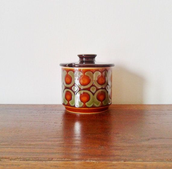Hornsea Preserve / Mustard Pot by TheWoodenThread on Etsy, £8.00