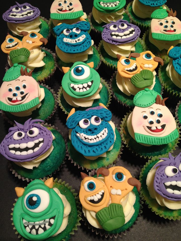 Monster University - by Cupcakes For You