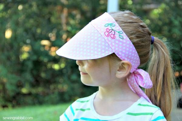 casquette visière DIY : une casquette visière