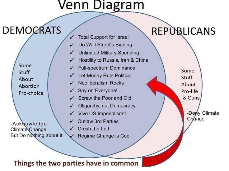 THE TWO PARTY SYSTEM IS A SCAM!  We don't need a third party... we need a second party.