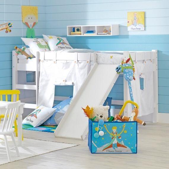 Cama infantil com escada (Beliches e Mezzanines) ~ Decoração e Ideias - casa e jardim