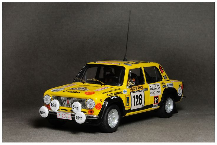 Lada 1600 Rally 1000 Lakes 1983 #128 (1/43 Resin) H.Wallinheimo/K.Kujanpaa. Price €62 + shipping Rally final results http://www.ewrc-results.com/final.php?e=10037&t=1000-Lakes-Rally-1983