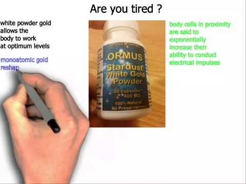 white powder gold review monoatomic gold review - YouTube