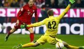 Bayern Munich llega entonado al duelo con la Juventus de Dybala...  Bayern Munich llega entonado al duelo con la Juventus de Dybala por Champions  Tag Duro:  Fútbol  Bayern Munich llega entonado al partido del miércoles a las 16.30 ante Juventus por la vuelta de los octavos de final de la Champions League. En la ida jugada en Italia empataron 2-2 y Paulo Dybala marcó uno de los goles de la Juve.   Los de Guardiola golearon 5-0 a Werder Bremen y siguen cómodos en la cima de la Bundesliga. El…