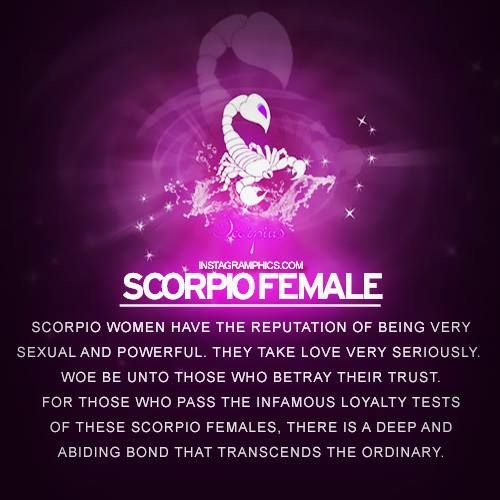 Scorpio female #Scorpio #astrology #zodiac https://www.facebook.com/ScorpioEvolution