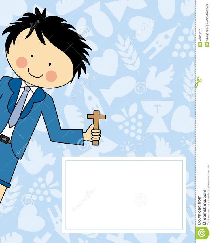 niño en su primera comunion vector - Buscar con Google