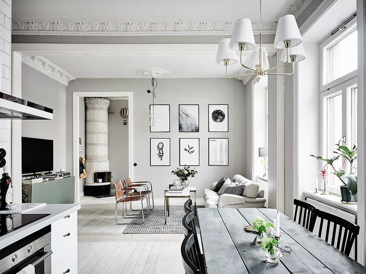 I wish I lived here: open plan living in Gothenburg More