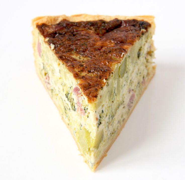 La Cuisine de Bernard : Quiche aux Brocolis Jambon et Roquefort
