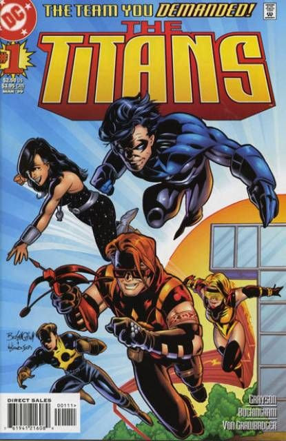The Titans Donna Troy