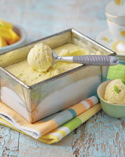 Mango & Mint Frozen Yoghurt