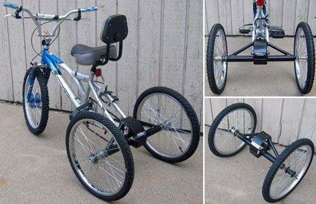 transformer son v lo en tricycle avec trikezilla v lo et design pinterest v lo. Black Bedroom Furniture Sets. Home Design Ideas