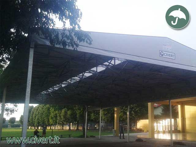 #Tunnel #mobili #ignifughi in #pvc per il settore sportivo, ludico e ricreativo: il montaggio è terminato!  http://www.civert.it/tunnel-mobili-in-pvc-ignifughi-lombardia/