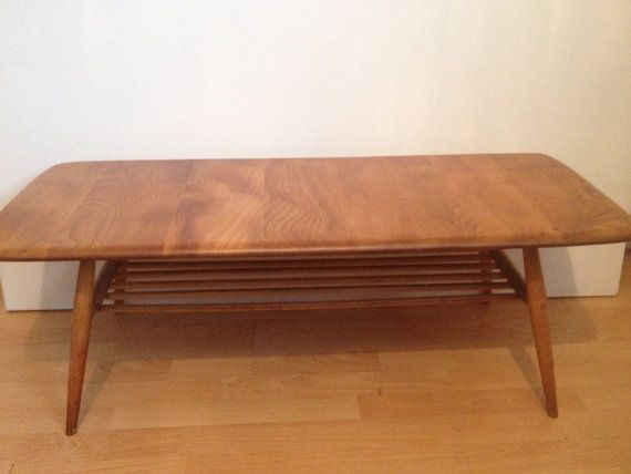 Ercol coffee table by MidCenturyHomeDecor on Etsy