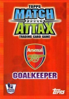 2007-08 Topps Premier League Match Attax #1 Jens Lehmann Back