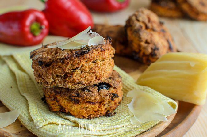 сконы закусочные рецепт, несладкие сконы с вялеными помидорами, сконы с черносливом рецепт, как приготовить сконы