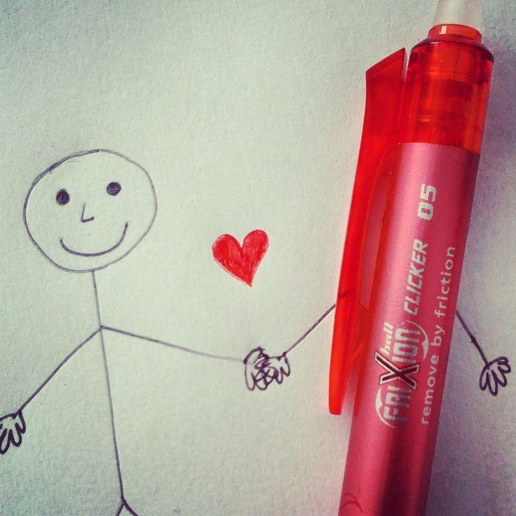 I love #Frixion #Clicker :)